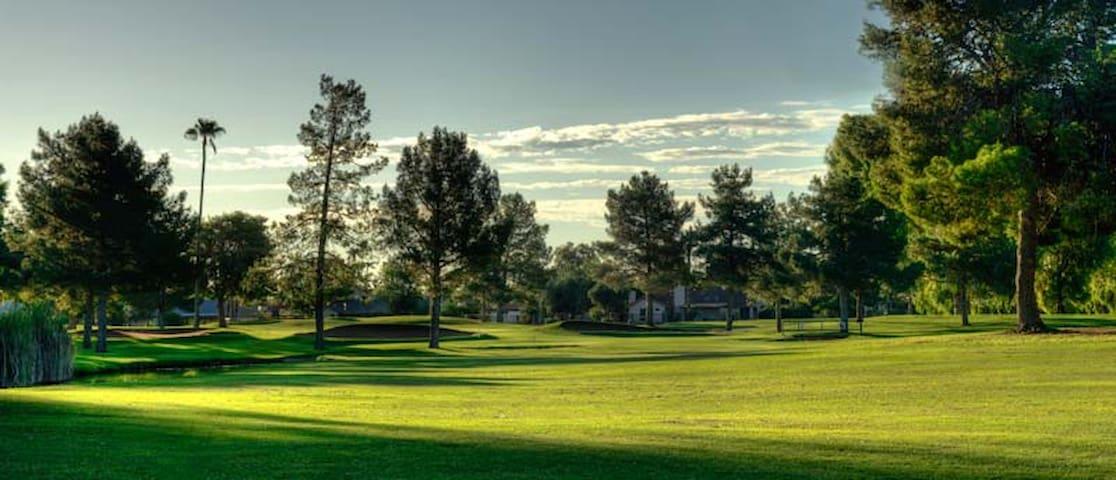 Dobson Golf 5 minutes away