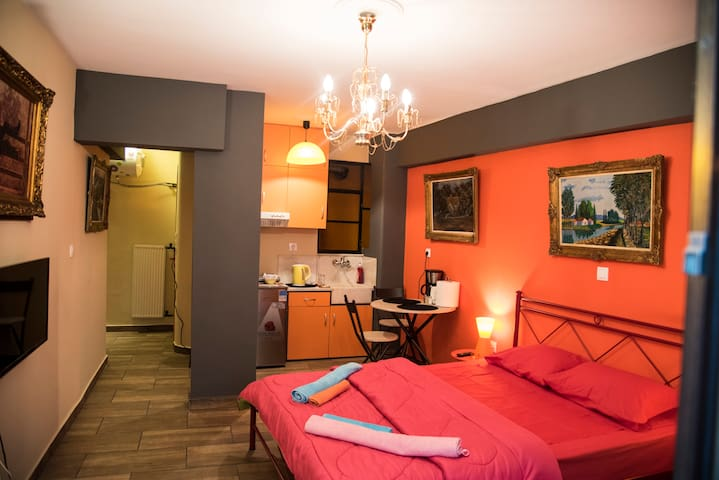 Central&Stylish 1 Double Bed Flat - Athina - Flat