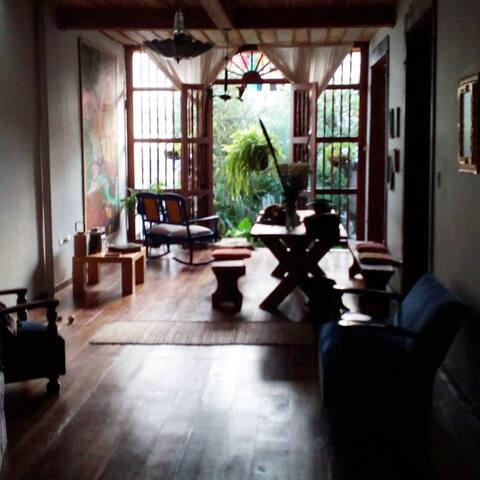 La Pequeña Casa. Pijao Colombia