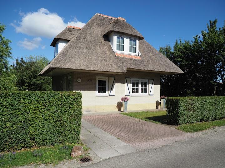 Typical Dutch house in Hellevoetsluis