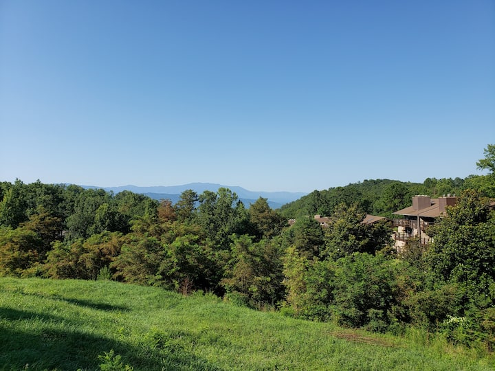 Serenity on top of Old Smoky. close to Dollywood.
