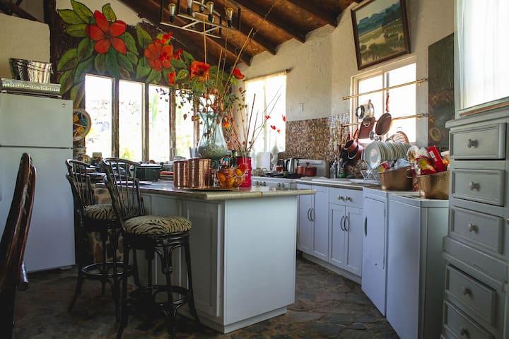 Casa campo con vista a la bahía de Ensenada