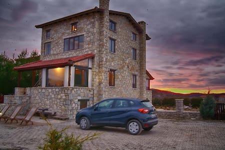Ski house - Σπίτι Παρνασσός (Λιβάδι)-Arahova - Arachova - Haus