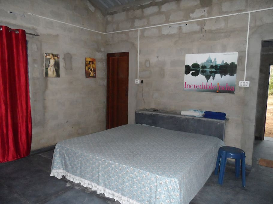 Spaciour bedrooms with comfortable beds,spare cot with mattress, good ventilation and adequate natural light.