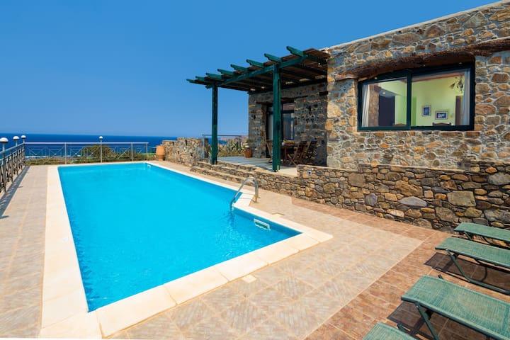 Seafront luxury villa  Elafonissi - Kissamos - Villa
