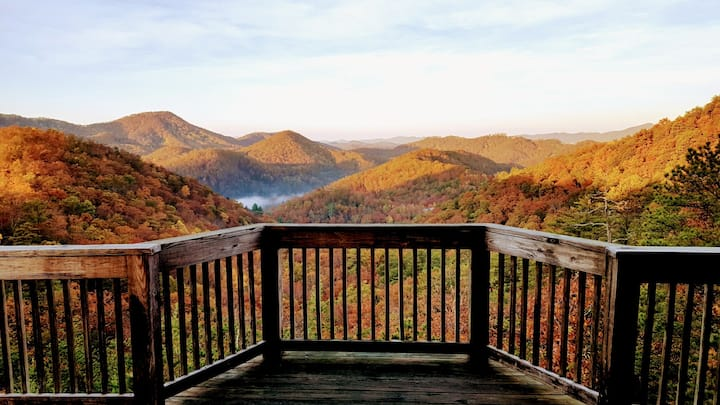 NEW! PEARLY GATES the BEST VIEWS in the Smokies