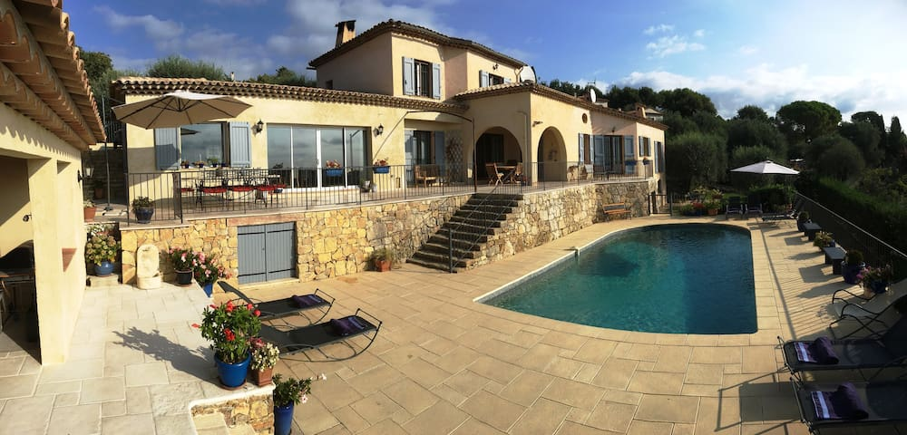 Spacious Peaceful Wonderful Views Near to Valbonne