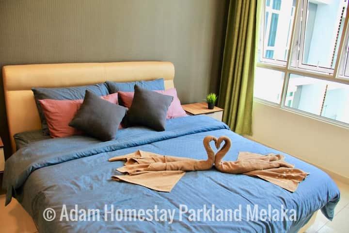 Adam Homestay Parkland Melaka 3R2B Free Parking
