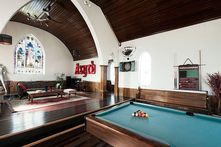 Chapel (games room)