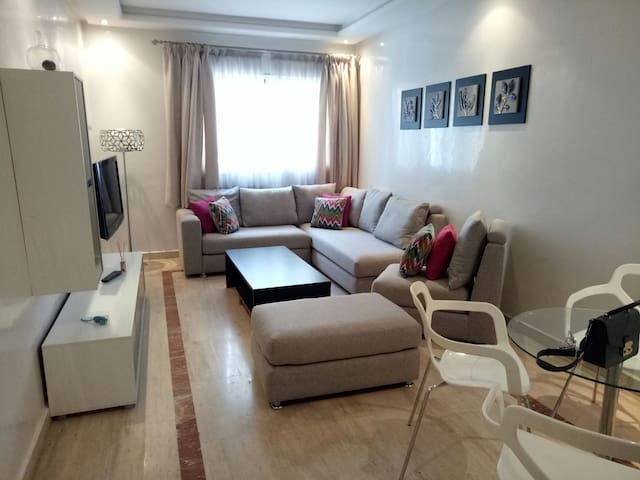 Cosy flat at the heart of Casablanca (Twin Center)
