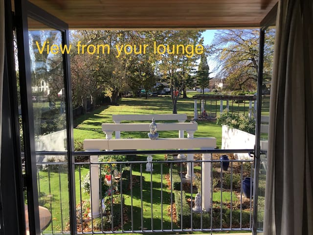 View from your private lounge - stunning