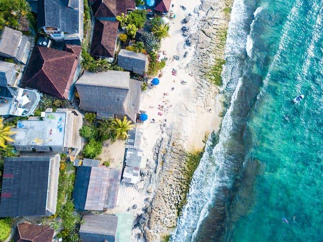 Bingin Adventurous Beach Cabin with Ocean Lullaby