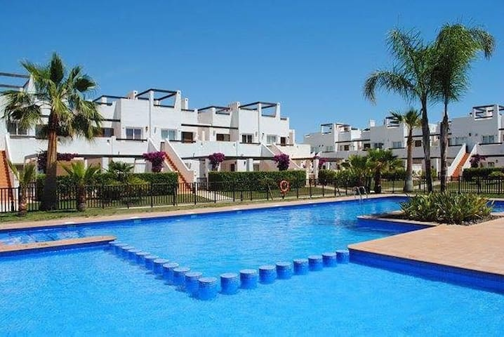 Luxury apartment with private roof terrace (N440) - Alhama de Murcia - Appartement