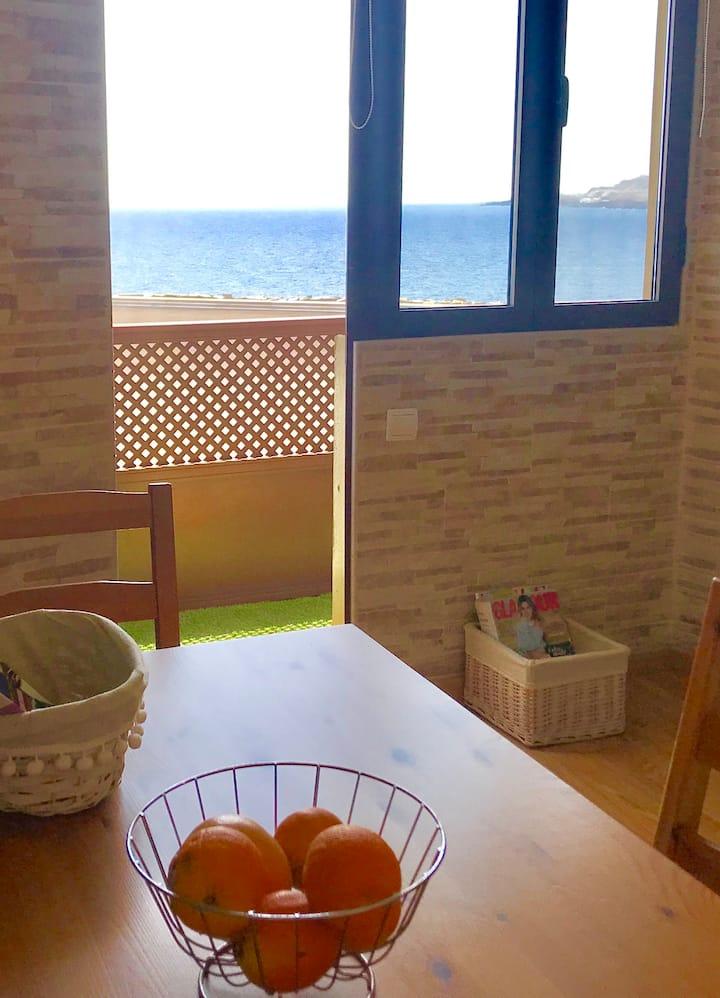 Apartamento espectacular en plena ciudad y playa