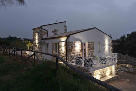 Appartamento 4 posti in villa a 100 m dal mare - Trappeto - Lakás