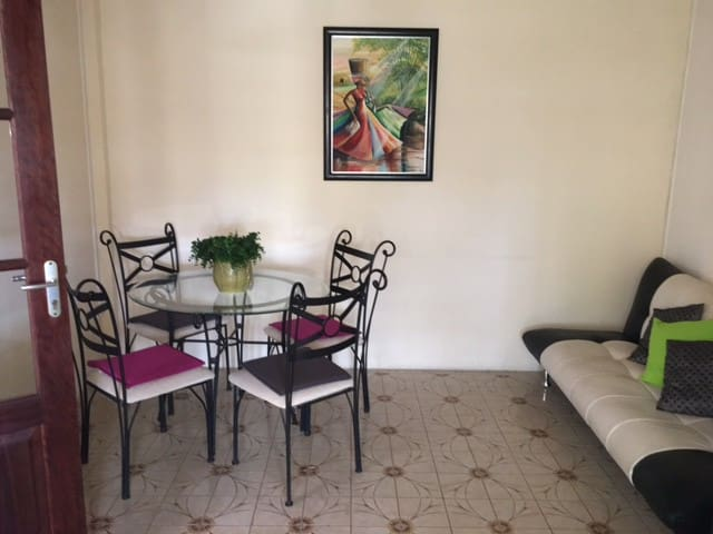 Cute large 1 bedroom appartment in Fort de France