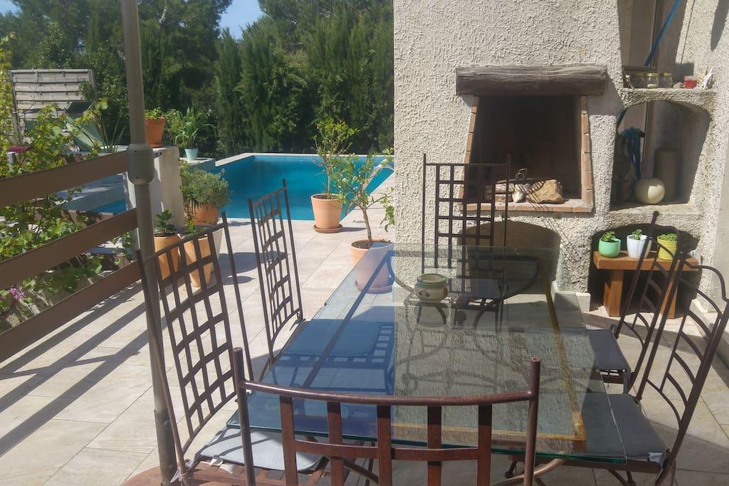 Terrasse + Barbecue