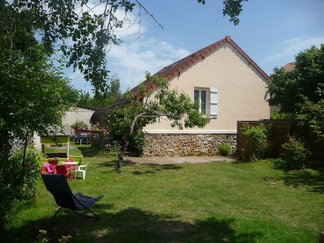 Maison agréable bien située et proche de Paris