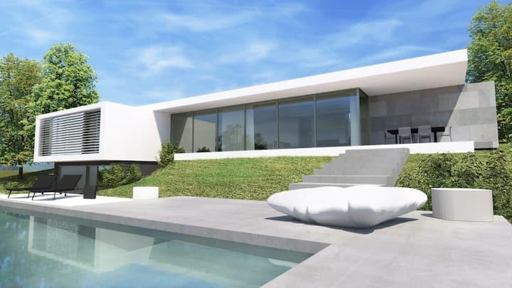 Villa d'architecte new vue lac/Aix 15 m' du revard