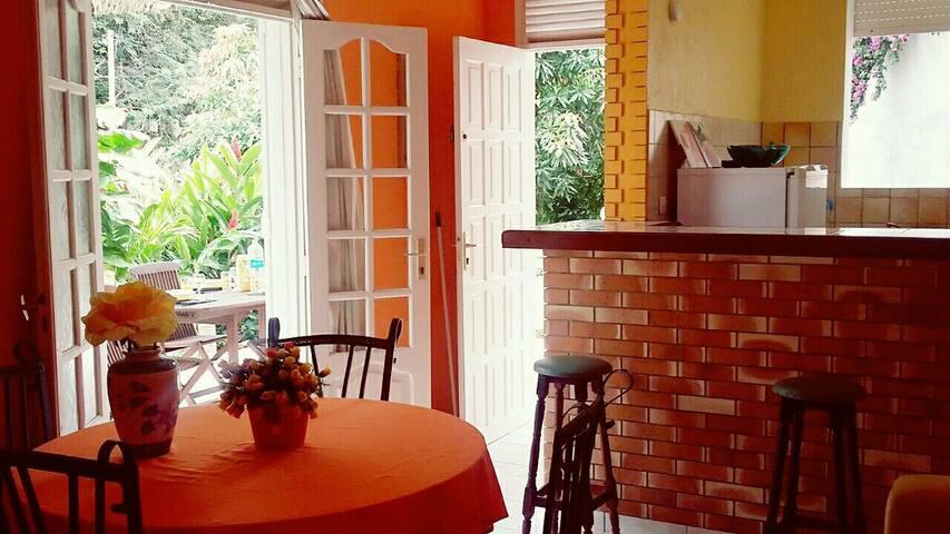 F3 dans villa avec jardin et terasse - Grand-Bois - House