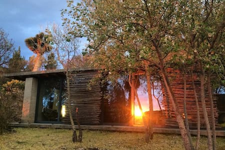 Unique Modernist Cabin with Incredible Sunset View