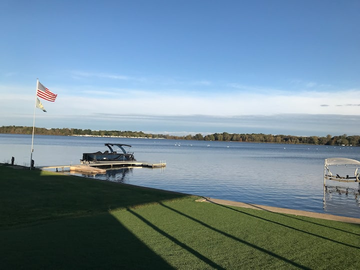 Custom home on the water and close to Notre Dame