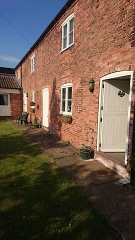 Private Double Room and Bathroom -annexe off barn.