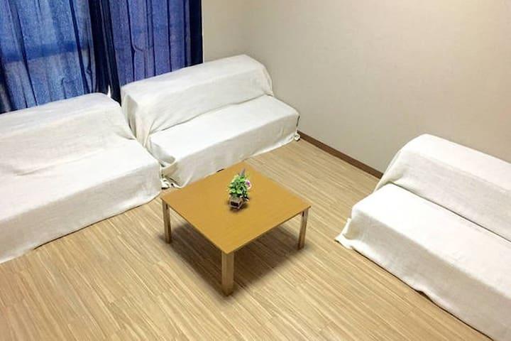 42)4min KYOTO st. PRIVATE 6pax.WIFI - Shimogyo Ward, Kyoto - Apartment