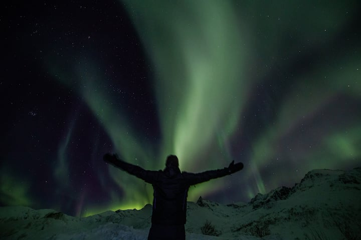Great location, northern lights friendly :)new nr5