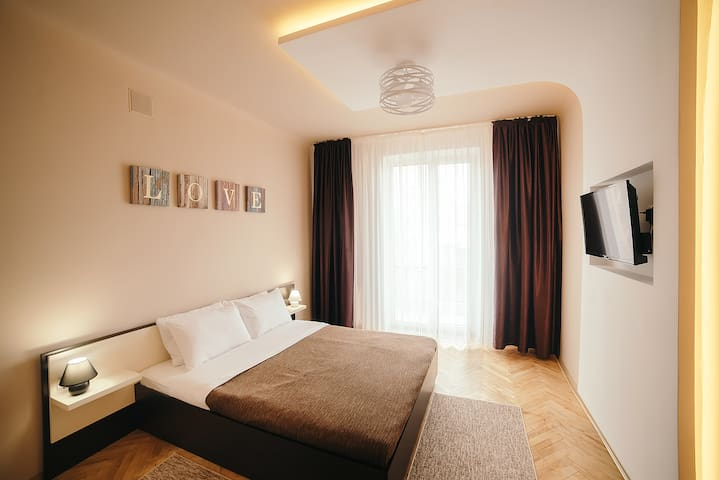 2 Bedrooms Apartment in the center of old Lviv