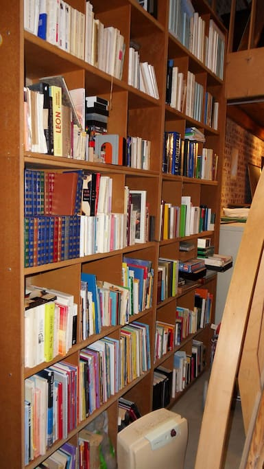 Bibliothèque enfants et adultes