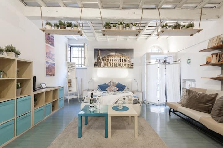 Blue Apartment Trastevere Roma