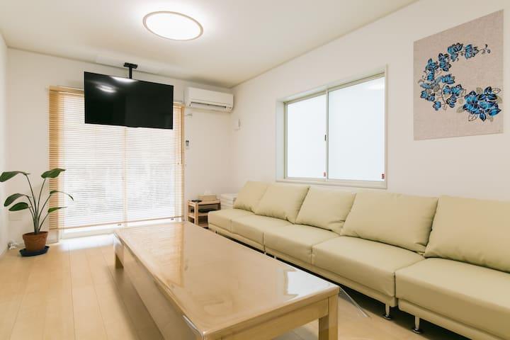★Karahai~Resort, new built villa, beach 5min