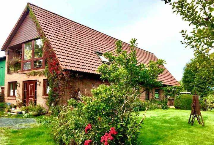 Resthof in Elbnähe
