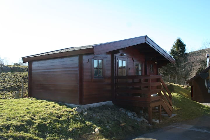 1 bedroom Lodge on Highland Cattle Farm