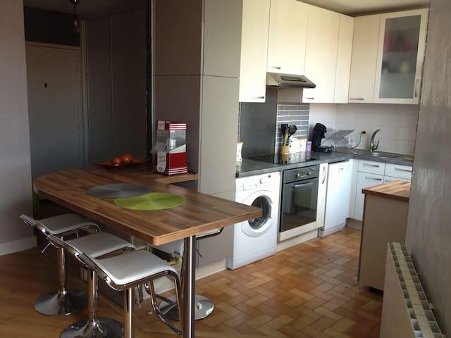 Confortable appartement en résidence - Clermont-Ferrand - Apto. en complejo residencial