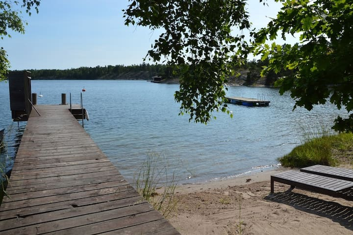House Ingarö, 6 beds, private beach