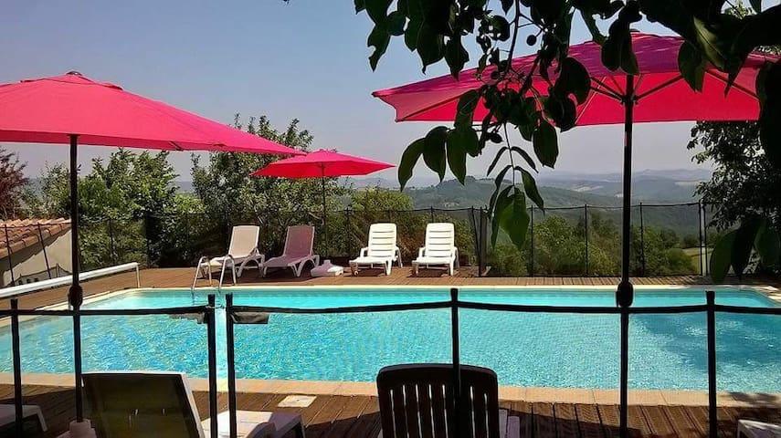 La Violette, a gite with a view