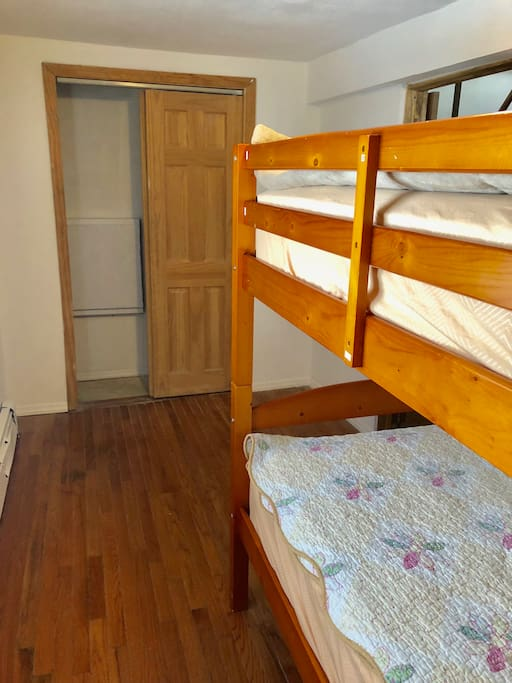 Private room with bunk bed