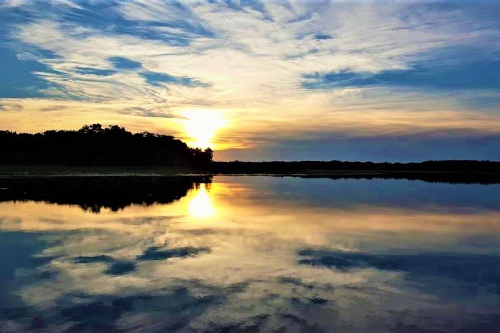 Undeveloped lake