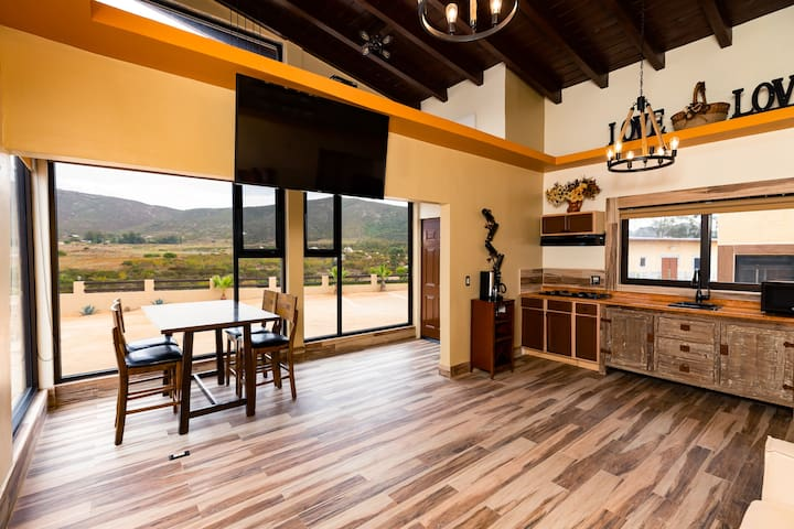 Villa With Kitchen And Smart TV By Wineries.