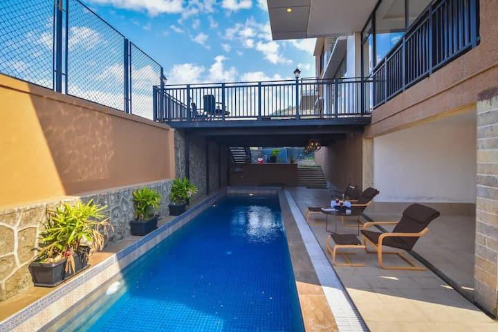 5BR Luxury Villa @Lonavala with Private Pool/Bkfst