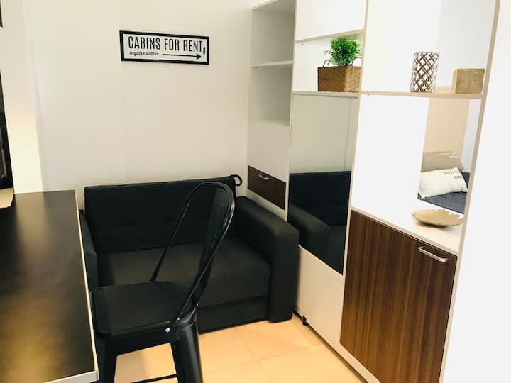 Confortable y lujoso monoambiente céntrico nuevo!