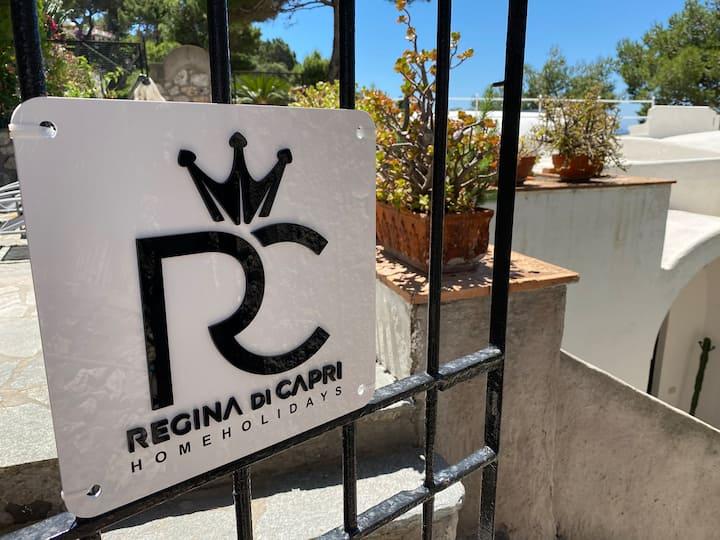 Regina di Capri - villa Occhio Marino -