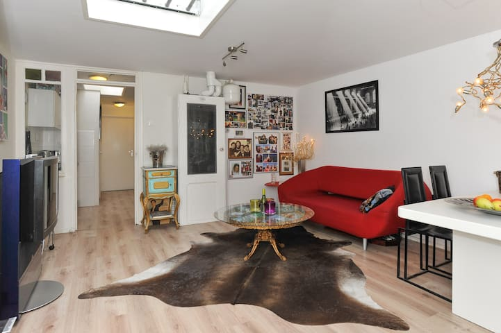 Great, Charming & Bright Appartment - Alkmaar - Departamento