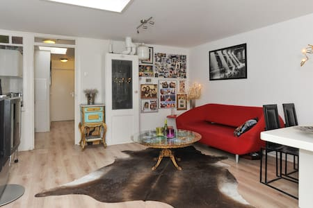 Great, Charming & Bright Appartment - Alkmaar - Daire