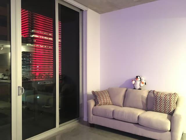 Vibrant studio in downtown miami   Miami   Apartment. Downtown Miami  Miami Vacation Rentals   Beach Houses   Airbnb