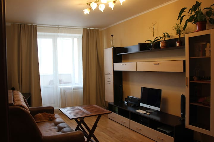 Cozy apartment on Nevskiy District - Sankt-Peterburg - Hus