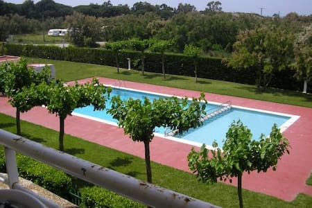 Apart for 6.Swimming pool.Beach 300m