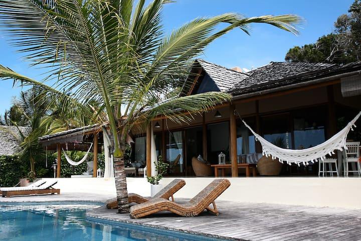 Amazing Beach Villa Itapororoca Trancoso - BAH007